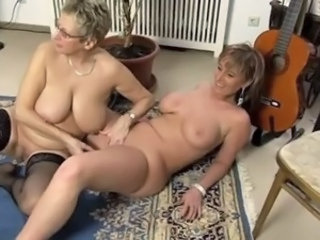 Big Tits Chubby European German Lesbian Mature Natural