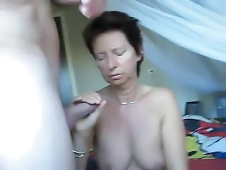 Handjob Mature Older Webcam Wife