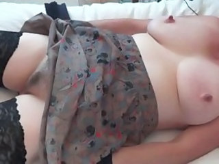 Wife being played with and cumming