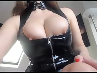 Amazing Big Tits Latex  Natural Nipples Webcam