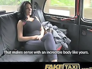 Amateur Big Tits Car