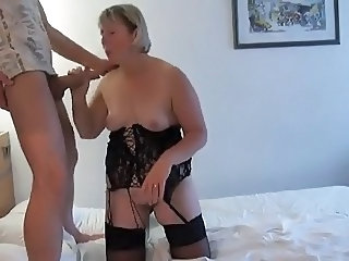 Amateur  European French Handjob Homemade Lingerie Mature Mom