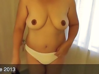 Amateur Asian Panty  Wife