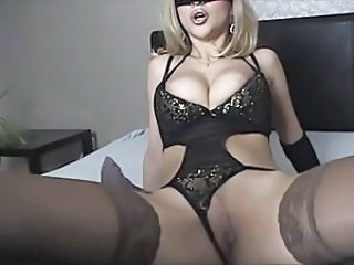 Amazing Big Tits Lingerie  Stockings Webcam