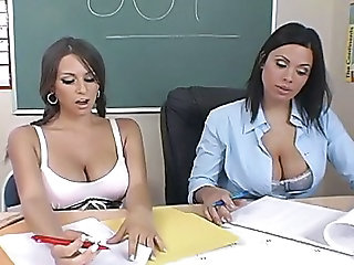 Amazing Big Tits  Natural Pornstar School Student Teacher