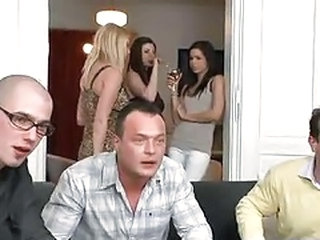 Drunk Groupsex Orgy Swingers Wife