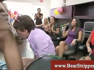 Blowjob  Interracial  Party