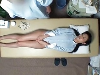 Asian HiddenCam Japanese Massage  Voyeur Wife