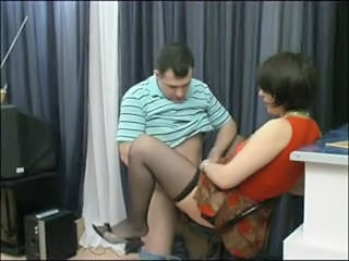 Clothed Mature Mom Old and Young Russian Stockings