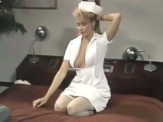 Amazing  Nurse Pornstar Stockings Uniform Vintage