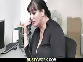 Chubby  Office Secretary