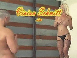 Amazing Blonde European Fishnet German  Panty