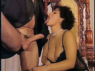 Big Tits Blowjob Lingerie  Natural Pornstar Vintage
