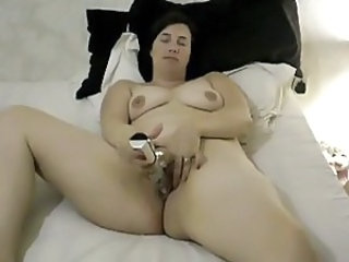 Amateur Homemade Masturbating  Toy Wife