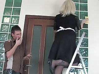 Maid Mature Mom Old and Young Russian
