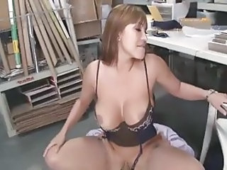 Big Tits  Office Pornstar Riding Secretary Silicone Tits