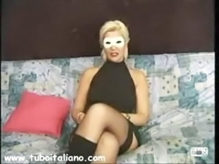 Amateur European Italian  Stockings Wife
