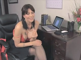 Big Tits  Office Stockings Tattoo Teacher