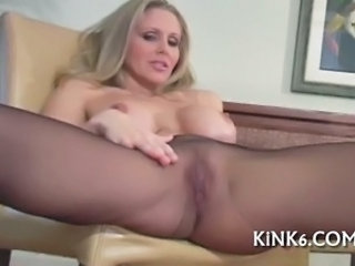 Big Tits  Pantyhose Silicone Tits Solo