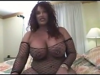 Big Tits Chubby Fishnet Latina  Piercing