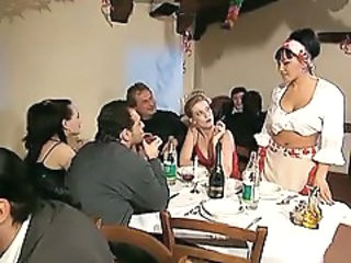 Drunk European Groupsex Italian  Orgy Party Swingers