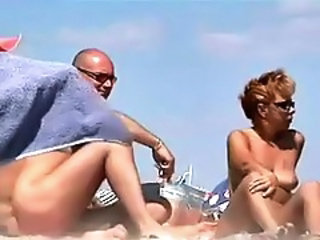 Beach Nudist Outdoor Public Voyeur Wife