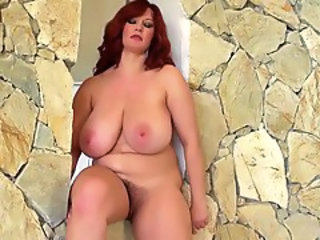 Big Tits Hairy  Mom Natural Redhead