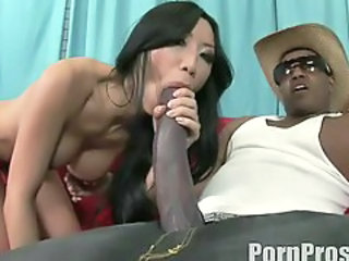Asiatisk  Blowjob Interracial