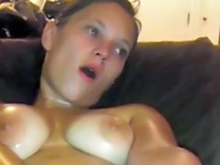 Amateur Homemade Oiled Wife