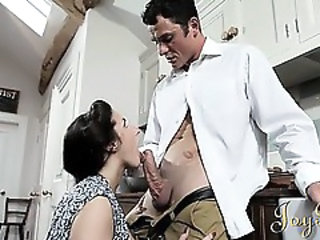 Blowjob Kitchen Wife