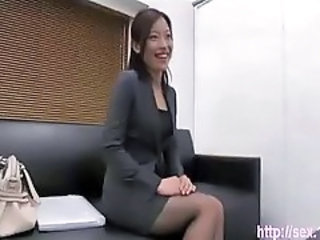 Asian Chinese  Secretary Stockings