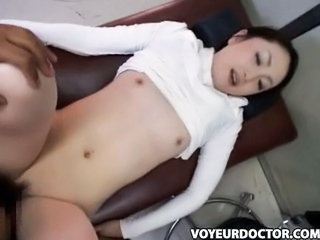 Asian Doctor  Small Tits