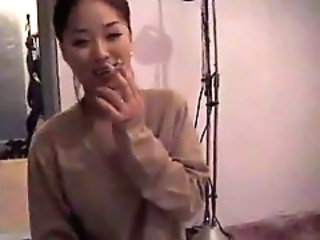Amateur Asian Homemade Korean Smoking Wife
