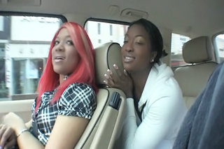 Car Ebony  Pornstar