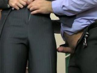 Russian office beauty  meeting break anal