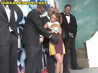 Cheerleader Interracial