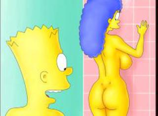 Private life of simpsons spotlight and their neighbors
