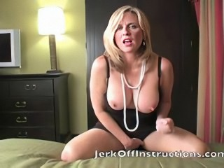 Horny Mom makes you Jerk off for will not hear of
