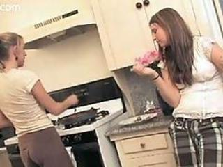 Real college lesbians desire moore and chrissy cane