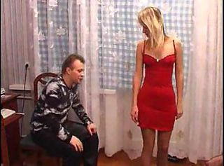 Russian Family-Daddy & Two Sexy Daugthers