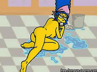 Marge Simpson coition
