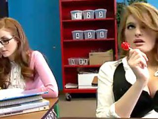 Two Redheads Seduce Their Teacher - 1st Part - by TLH