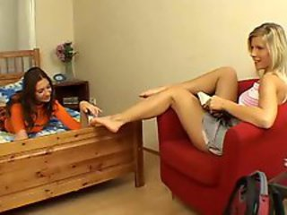 European lesbian teens. Beautiful legs