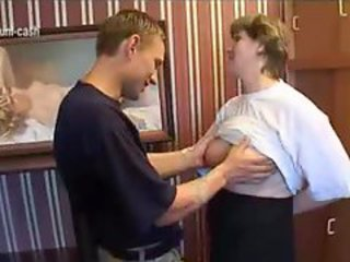 18yrs Teen get MILF authentic from mature lass