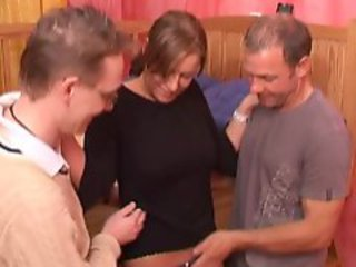 GOOD German Swinger threesome Fuck Video