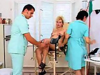 Dirty fun with milfs in doctor office