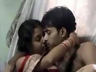 Lovely Indian girl making out with her man