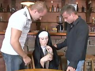 Nuns Double Duty In The Pub