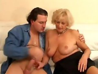 Awesome granny bitch got screwed too hard in ass