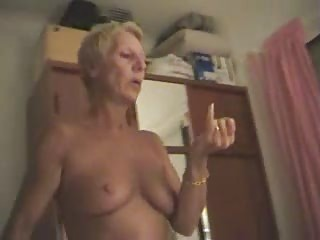 Nudist Filming His Wife Giving H...